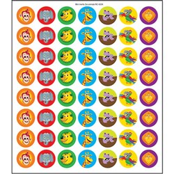 Mini Merit Stickers - Zoo Animals