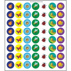 Mini Merit Stickers - Creepy Crawlies