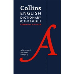 Collins English Dictionary and Thesaurus Essential Ed