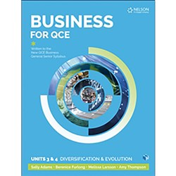 Business for QCE: Units 3 & 4 Student Book + 4 Access Codes