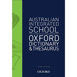 Australian Integrated School Oxford Dictionary & Thesaurus