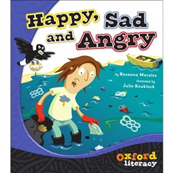 Oxford Literacy Lvl 2 Happy, Sad and Angry