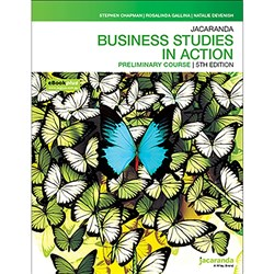 Jacaranda Business Studies in Action Prelim 5e Print + eBook