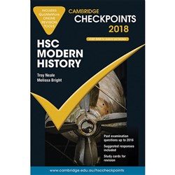 Cambridge Checkpoints HSC 2018 Modern History & Quiz Me