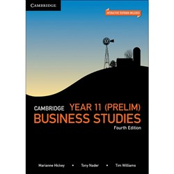 Cambridge Year 11 Business Studies 4e Text + Digital