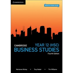 Cambridge Year 12 Business Studies 4e Text + Digital