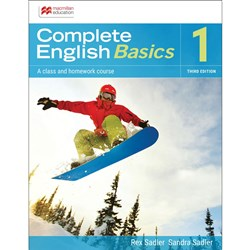 Complete English Basics AC 1 Student Book + Digital 3e