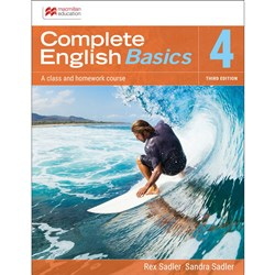 Complete English Basics AC 4 Student Book + Digital 3e