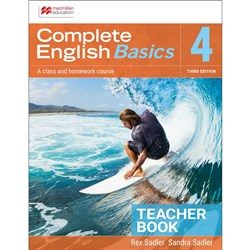 Complete English Basics 4 Teacher Resource Book 3e