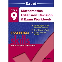 Excel Maths Extension Revision & Exam Workbook 2 Year 9
