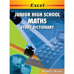 Excel Junior High School Maths Study Dictionary  Years 9-10