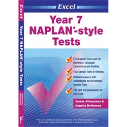 Excel Year 7 NAPLAN*-style Tests