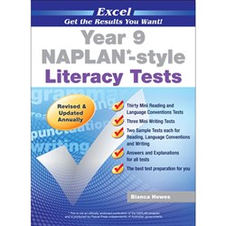 Excel Year 9 NAPLAN*-style Literacy Tests