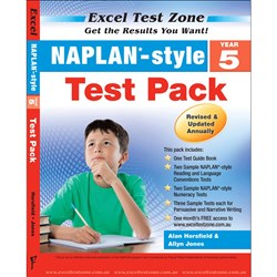 Excel Test Zone NAPLAN* Style Test Pack Year 5