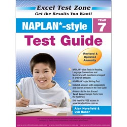 Excel Test Zone NAPLAN* Style Test Pack Year 7