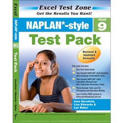 Excel Test Zone NAPLAN* Style Test Pack Year 9