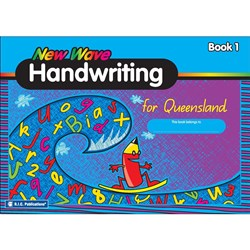 New Wave Handwriting QLD Book 1 (Ages 5-6)     RIC-1175Q