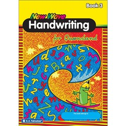 New Wave Handwriting QLD Book 3 (Ages 7-8)      RIC-1177Q