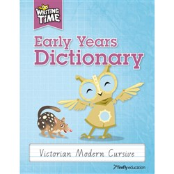Writing Time Early Years Dictionary VIC Modern Cursive