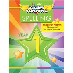 Reading Eggspress Spelling Workbook Year 1