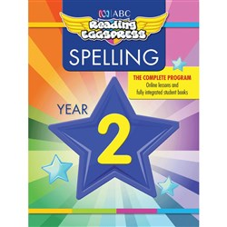Reading Eggspress Spelling Workbook Year 2