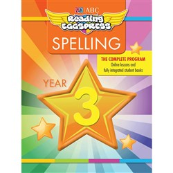 Reading Eggspress Spelling Workbook Year 3