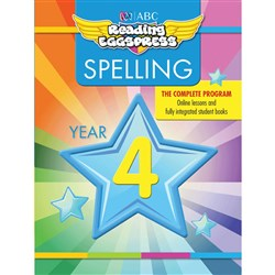 Reading Eggspress Spelling Workbook Year 4