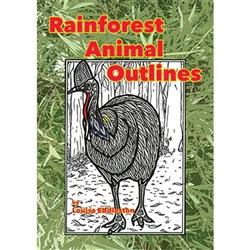 Rainforest Animal Outlines MP-1415
