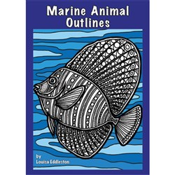 Marine Animal Outlines MP-1590