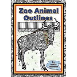 Zoo Animal Outlines MP-1417