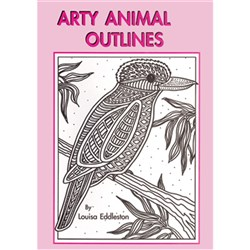 Arty Animal Outlines MP-1320