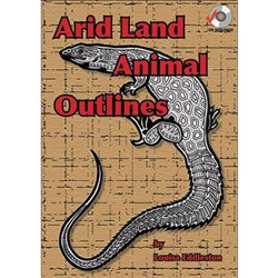 Arid Land Animal Outlines Book + CD  MP-1413