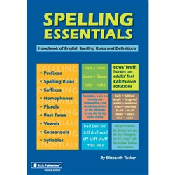 Spelling Essentials Ages 9-Adult   RIC-1113