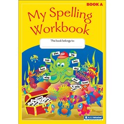 My Spelling Workbook Book A (Yr K NSW/ VIC, Yr 1 QLD)