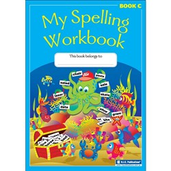 My Spelling Workbook Book C (Yr 2 NSW/ VIC, Yr 3 QLD)