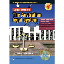 Interactive Lessons Legal Studies - Australian Legal Sys