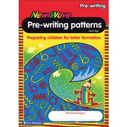 New Wave Pre-Writing Patterns Ages 4-5   RIC-6601