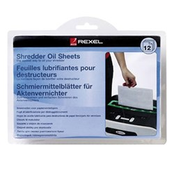 Rexel Shredder Oil Sheets
