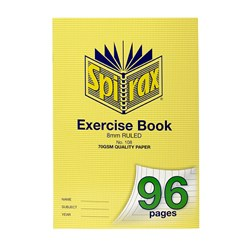 Spirax 108 Exercise Book A4 8mm 96 pg