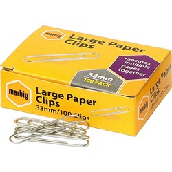 Paper Clips Large 33mm