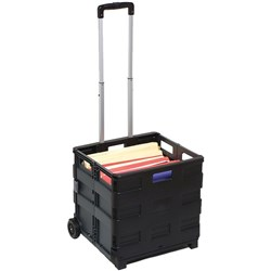Collapsible Storage Trolley 25kg Marbig
