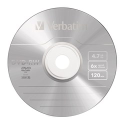 DVD-RW 4.7GB Jewel Case 2x