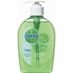 Dettol Antibacterial Refresh Liquid Hand Wash Pump 250ml