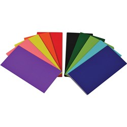 Rainbow Flash Cards Blank 102 x 203mm 290gsm Asst