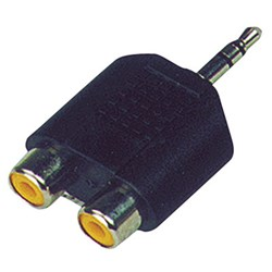 Adaptor Stereo RCA - 3.5mm Mini Jack