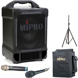 Mipro MA707 Portable PA with Frequency Agile Wireless Mic
