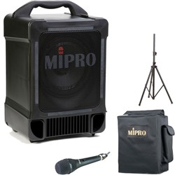 Mipro MA707 Portable PA System & Cord Microphone