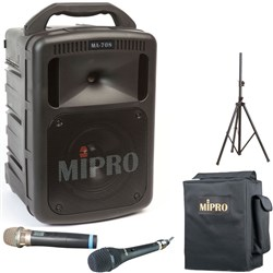 Mipro MA708 Portable PA with Wireless Mic