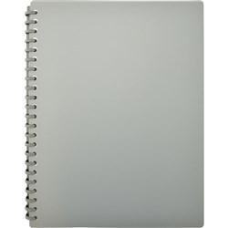 Display Book A4 Refillable Matte Grey