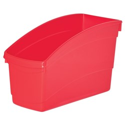 Plastic Book Tub Asst 100W x 267D x 190H mm